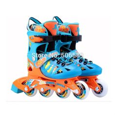 95.00$  Buy now - http://aliw8c.worldwells.pw/go.php?t=32381368191 - free shipping roller skates children MZS867 size adjustable 95.00$