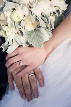 Bride & Groom Ring Pictures! Winter Wedding