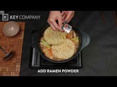 Korean Army Stew (Budae Jigae) Army Stew, Key Company, Korean, Dishes, Recipes, Korean Language, Tablewares, Ripped Recipes