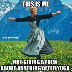 An All-Around Yoga Exercise: Salute to the Sun Yoga Humor, Meme Yoga, Funny Yoga, Yoga Jokes, Yoga Puns, Pilates Studio, Yoga Routine, Yin Yoga, Yoga Meditation