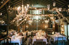 stunning barn reception