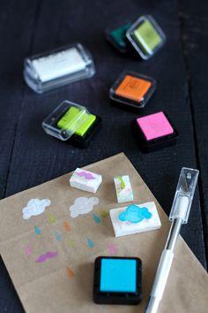 Foam stamps!