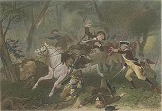 The Battle of Kings Mountain was a decisive battle between the Patriot and Loyalist militias in the Southern campaign of the American Revolutionary War. The actual battle took place on October 7 1780, nine miles south of the present-day town of Kings Mountain, North Carolina in rural York County, South Carolina, where the Patriot militia defeated the Loyalist militia commanded by British Major Patrick Ferguson of the 71st Foot.