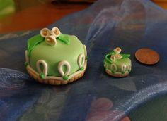 Mini Cake in Fimo