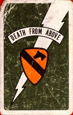 1st Air Cav la mort Carte Vietnam More