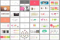 60 beautiful premium powerpoint presentation templates pinterest africa powerpoint template toneelgroepblik Choice Image