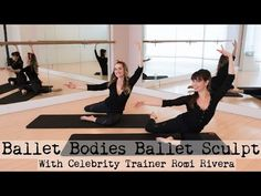 Ballet Bodies Ballet Sculpt With Christine Bullock and Celebrity Trainer Romi Rivera Group Fitness, Wellness Fitness, Yoga Fitness, Fitness Tips, Ballet Fitness, Fitness Motivation, Ballet Barre Workout, Pilates Barre, Barre Workouts
