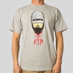 Down with OCP T-Shirt by Alex Pardee