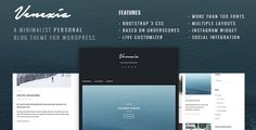 Why Venezia ?  Venezia is a minimal and simple responsive Wordpress theme, designed for any type of blogger. Easy to setup and no bloated feature.          All images for demo from UNSPLASH and B...