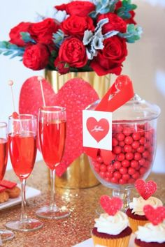 Party Inspirations: Happy Valentines Day XOX by Perfectly Sweet