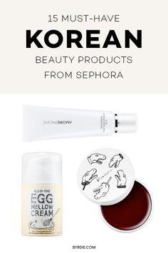 The best Korean beauty products at Sephora #Koreanskincare
