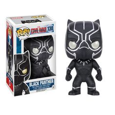 Funko Pop Pantera Negra - Guerra Civil - Reduto do Nerd