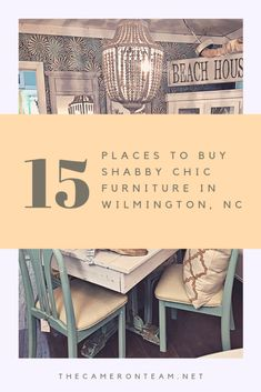 Where to Buy Shabby Chic Furniture in Wilmington NC | #furniture #shabbychic #shabbychicfurniture #wilmingtonnc