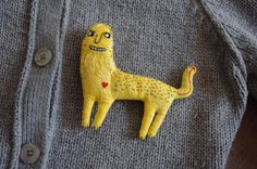 Leo. Brooch. It is designed for the very brave people. 獅子別針。為很勇敢的人設計的。