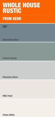 Nothing's more calming than this costal mix of blue and grey paint colors - Home decor interests Grey Paint Colors, Bedroom Paint Colors, Interior Paint Colors, Paint Colors For Home, House Colors, Gray Paint, Silver Paint, Calm Colors For Bedroom, Interior Design