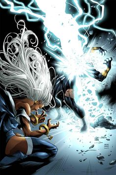 Storm, Lightning strike!! ®   WOW-WUH!!  The animation is aMAZing!!