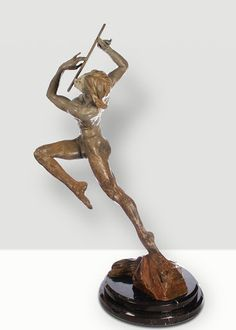 Richard MacDonald sculpture for sale Flutist Half Life is available through Robin Rile Fine Art. Contact info@robinrile.com for further details.  Escultura.