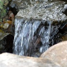 Pondless waterfalls are easy with do-it-yourself instructions.