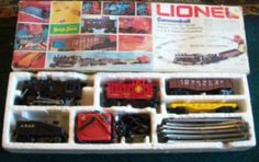 Lionel O Scale - Wabash Cannonball Train set - this was my first train set - I had to set it up in the guest room because the shag carpet in my room would get caught in the train