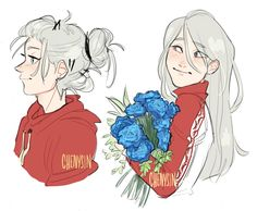 """chenysin: """"gosh i love his fricking hair """" Art Reference Poses, Drawing Reference, Cute Drawings, Drawing Sketches, Boy Hair Drawing, Oc Manga, ユーリ!!! On Ice, How To Draw Hair, Yuri On Ice"""