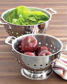 All-Clad Stainless-Steel Colanders