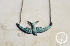IN STOCK  Free Fallen patina necklace GDO 20112012 by girlsdayout, $18.00