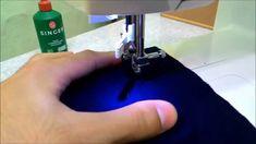 Costurando tecidos finos e malhas em máquinas de costura zig-zag                                                                                                                                                                                 Mais
