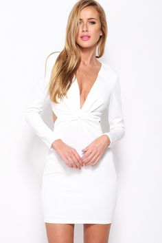 Deepest Stare Dress, White, $65 + Free express shipping http://www.hellomollyfashion.com/deepest-stare-dress-white.html