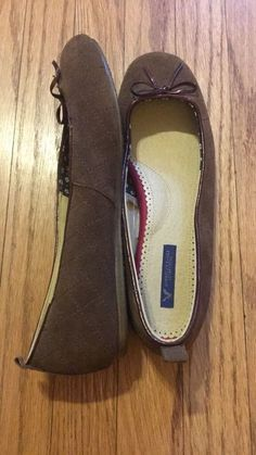 36307df65b9e American Eagle Brown Flats Size 8  fashion  clothing  shoes  accessories   womensshoes