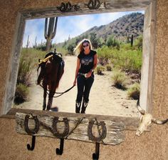 Crafting Western Style, beautiful with a pick of Addy and Spanky:)