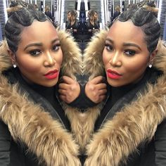 CLIENT SELFIE: who doesn't love a good client selfie??   | styled by @yaya146…
