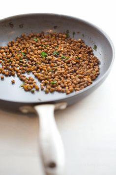 How-to Make Skillet-Popper Lentils for Picky Eaters