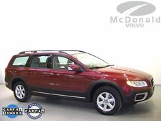 2009 Volvo XC70 3.2L  One-owner! All Wheel Drive! Who could say no to a simply great wagon like this outstanding 2009 Volv... [Read More]  Selling Price: $26,898  VIN: YV4BZ982791060760  Stock #: VP91060760  Miles: 40,592  Transmission: Automatic  Exterior Color: Maroon  www.mcdonaldvolvousedcars.com/littleton-co-used-volvo