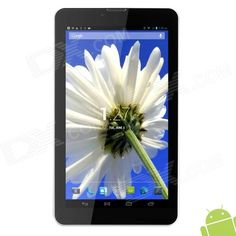 "AOSON M701TG 7"" Android 4.2 Dual-core 3G Tablet PC w/ Wi-Fi / GPS / FM / Bluetooth - White   Black Price: $83.43"