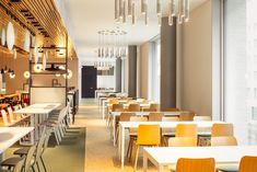 The emplyee restaurant at K-Kampus, HQ of K-ryhmä, was designed by dSign Vertti Kivi & Co in The restaurant space can be used as working space beyond lunch hours.