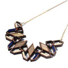 Aziza Blue Necklace