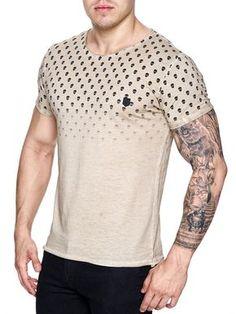 K&D Men Resistance Graphic T-shirt - Gray Casual T Shirts, Cool Shirts, Tee Shirts, Men Casual, Casual Outfits, Dye T Shirt, V Neck T Shirt, Shirt Dress, Silk Screen T Shirts