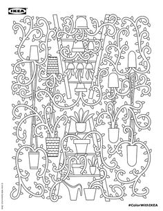 Ikea just launched a coloring book, and it's absolutely perfect (and free!)