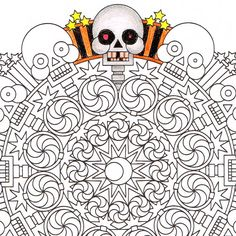 halloween therapy coloring pages - photo#15
