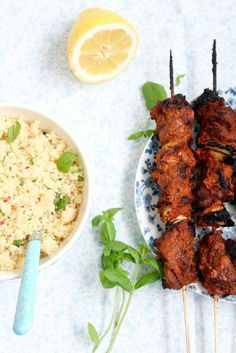 Couscous with Mint, Lemon and Chillies