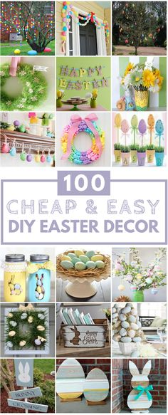100 Cheap & Easy Easter DIY Decorations