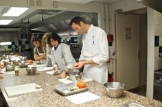 Cooking class at Le Cordon Bleu Paris