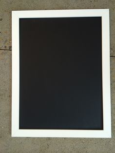 How to make a black board in a frame
