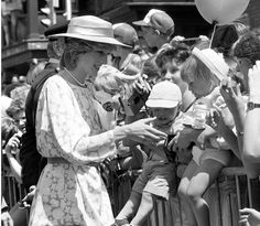 Princess Diana at Ottawa 1986
