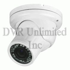 CMT2265 2.8-12mm varifocal lens-Weather resistant WhiteTurret Camera