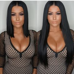 A guide to transforming short hair with clip in hair extensions & smoothly blending natural & unnatural hair.Learn to add clip in hair extensions for short hair One Piece Hair Extensions, Hair Extensions Before And After, Hair Extensions For Short Hair, Long Wigs, Short Wigs, Trendy Hairstyles, Straight Hairstyles, Black Hairstyles, Short Curls