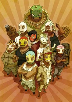 lucha libre comic - Google Search