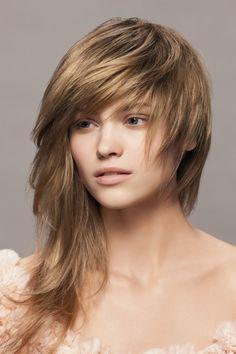 Super cool asymmetrical haircut!