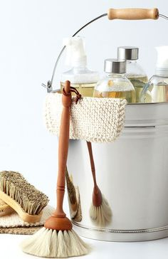 """Whether you're spring or fall cleaning, or your house has reached the """"I just can't take it any more"""" level (we've all been there), here's how to give your house a full deep clean. It's easier than you might think. Start with/"""
