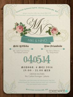 Contoh invitation card about wedding party invoice templates 2019 contoh invitation card wedding dan artinya beautiful invitation how to create a marriage invitation on facebook steps sample wedding invitations stopboris Image collections